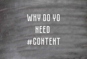 Зачем нужен контент