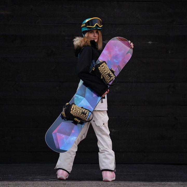 Фэшн фотография — сноубордистка