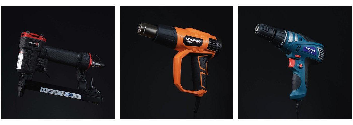 предметное фото строительных инструментов