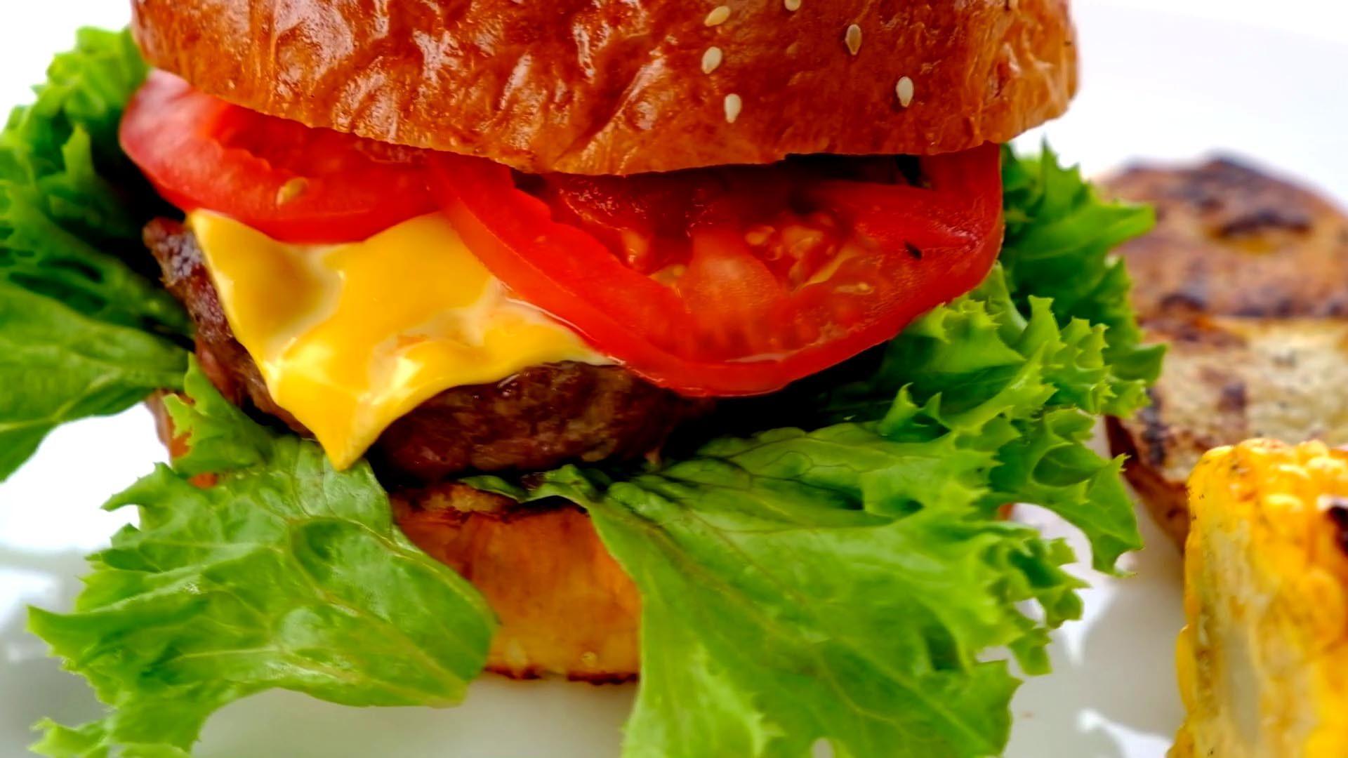 Фото для ресторана — бургер